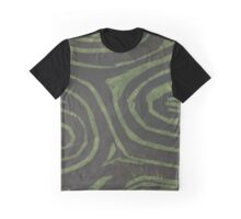 Whorls - green fibers Graphic T-Shirt