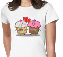 Sweetie-pie honey bunch Womens Fitted T-Shirt