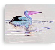 Serenity on the Lake at Dusk Metal Print