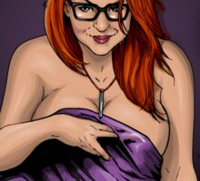 SheVibe Presents - #NSFW Totally Naughty Coloring Book - Edited by Lady Cheeky Sticker