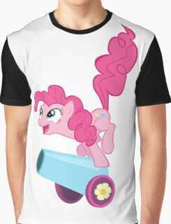 PINKIE PIE WITH CANNON Graphic T-Shirt
