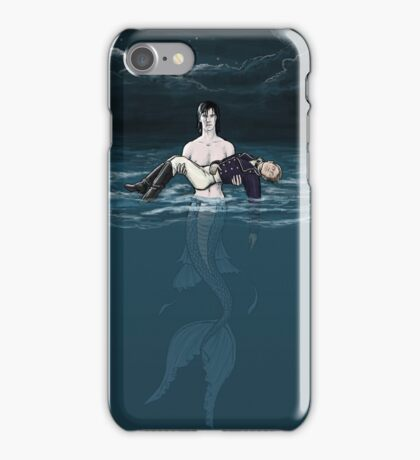 Merlock Saves Naval Officer john iPhone Case/Skin