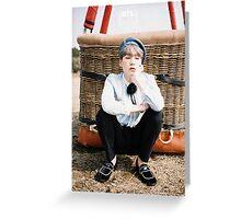 BTS/Bangtan Sonyeondan - Young Forever Concept #4 (Suga) Greeting Card