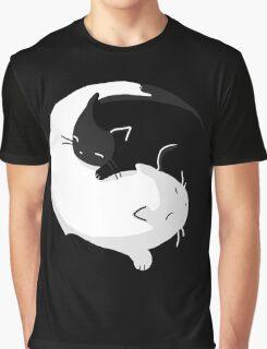 Yin Yang Cats - version 2 Graphic T-Shirt