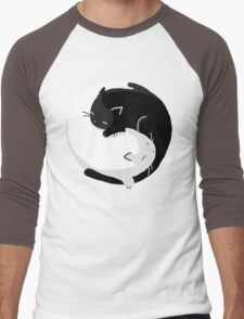 Yin Yang Cats - version 2 Men's Baseball ¾ T-Shirt