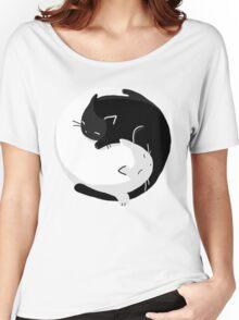 Yin Yang Cats - version 2 Women's Relaxed Fit T-Shirt