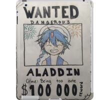 Wanted: Aladdin iPad Case/Skin