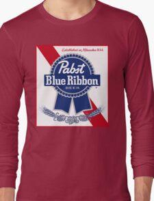 Pabst Blue Ribbon Long Sleeve T-Shirt