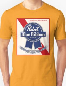 Pabst Blue Ribbon Unisex T-Shirt