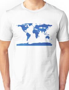 sdd World Map 1J Unisex T-Shirt