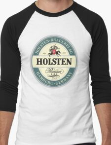 Holsten Beer Men's Baseball ¾ T-Shirt