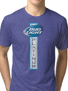 Bud Light Platinum Tri-blend T-Shirt