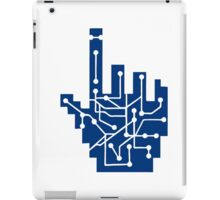 show cyborg mouse hand click computer pc online circuitry pointer arrow control online vote electronically pattern iPad Case/Skin