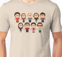 THAT 70'S SHOW - MAIN CHARACTERS CHIBI - MANGA 70'S SHOW Unisex T-Shirt