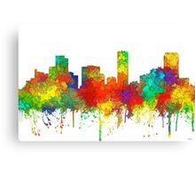 Denver, Colorado Skyline - SG Canvas Print