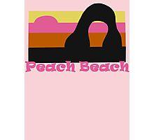 Peach Beach (Mario Kart) Photographic Print