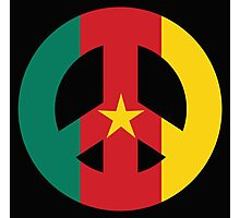 Cameroon Peace Symbol Photographic Print