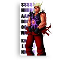 Shadow Ken SFV Canvas Print