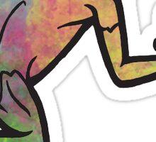 Watercolor Frog Sticker