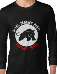 THE BLACK PANTHER PARTY Long Sleeve T-Shirt