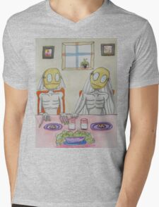 Milk and Cookies Mens V-Neck T-Shirt