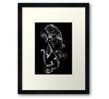 Black Panthera Framed Print