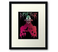 Hyper Light Drifter - Stencil  Framed Print