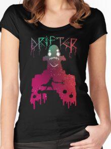 Hyper Light Drifter - Stencil  Women's Fitted Scoop T-Shirt