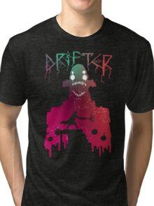 Hyper Light Drifter - Stencil  Tri-blend T-Shirt