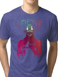 Hyper Light Drifter - Stencil  Tri-blend T-Shirt