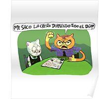 Papá gato Poster