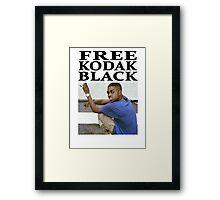 FREE KODAK BLACK Framed Print