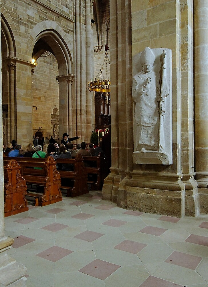 Cathedral, Bamberg 10 by Priscilla Turner