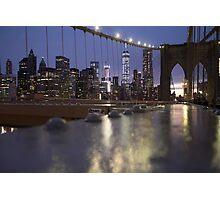BK Bridge  Photographic Print