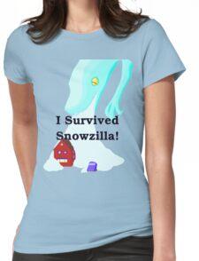 Snowzilla Womens Fitted T-Shirt