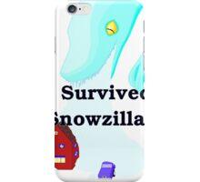 Snowzilla iPhone Case/Skin