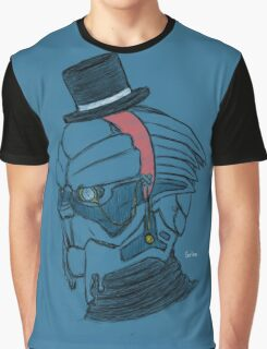 Dapper(ish) Garrus Graphic T-Shirt