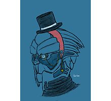 Dapper(ish) Garrus Photographic Print