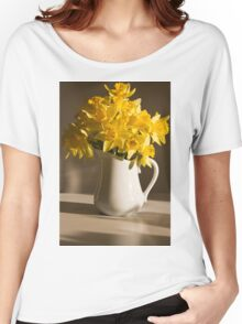 Daffodil Filled Jug Women's Relaxed Fit T-Shirt