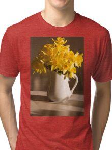 Daffodil Filled Jug Tri-blend T-Shirt