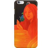 Sun goddess iPhone Case/Skin