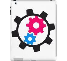 cool cogs design engine clockwork turn mechanically iPad Case/Skin