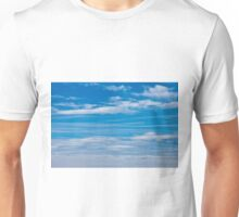 Cloud Streaked Blue Sky Unisex T-Shirt