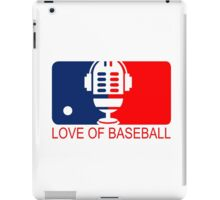 love of baseball iPad Case/Skin