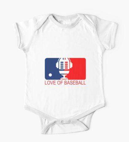love of baseball One Piece - Short Sleeve