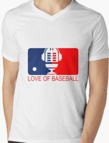 love of baseball Mens V-Neck T-Shirt