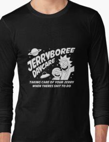 Rick and Morty Inspired Jerryboree Long Sleeve T-Shirt