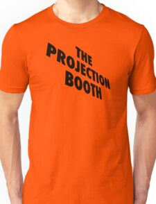 The Projection Booth - Paizs Logo - Black Unisex T-Shirt