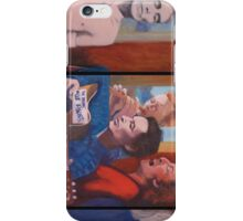 The Last protest - Oil Painting on canvas by Nina Vox iPhone Case/Skin