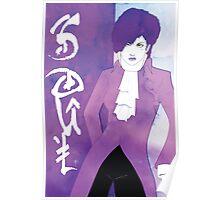 Royal Violet Soul Poster